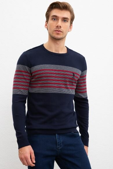 U.S. POLO ASSN. Navy Blue Standard Sweater