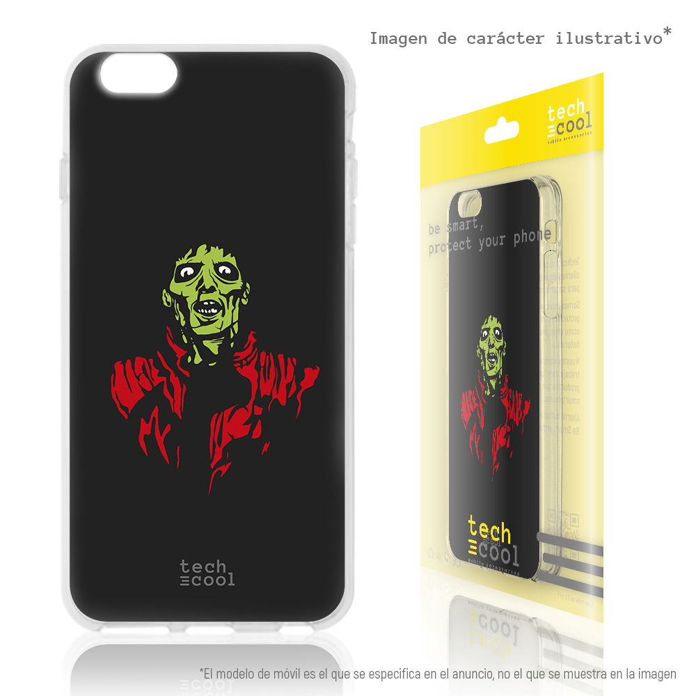 FunnyTech®Silicone Case for Samsung Galaxy A5 (2016) l Michael Jackson Thriller image