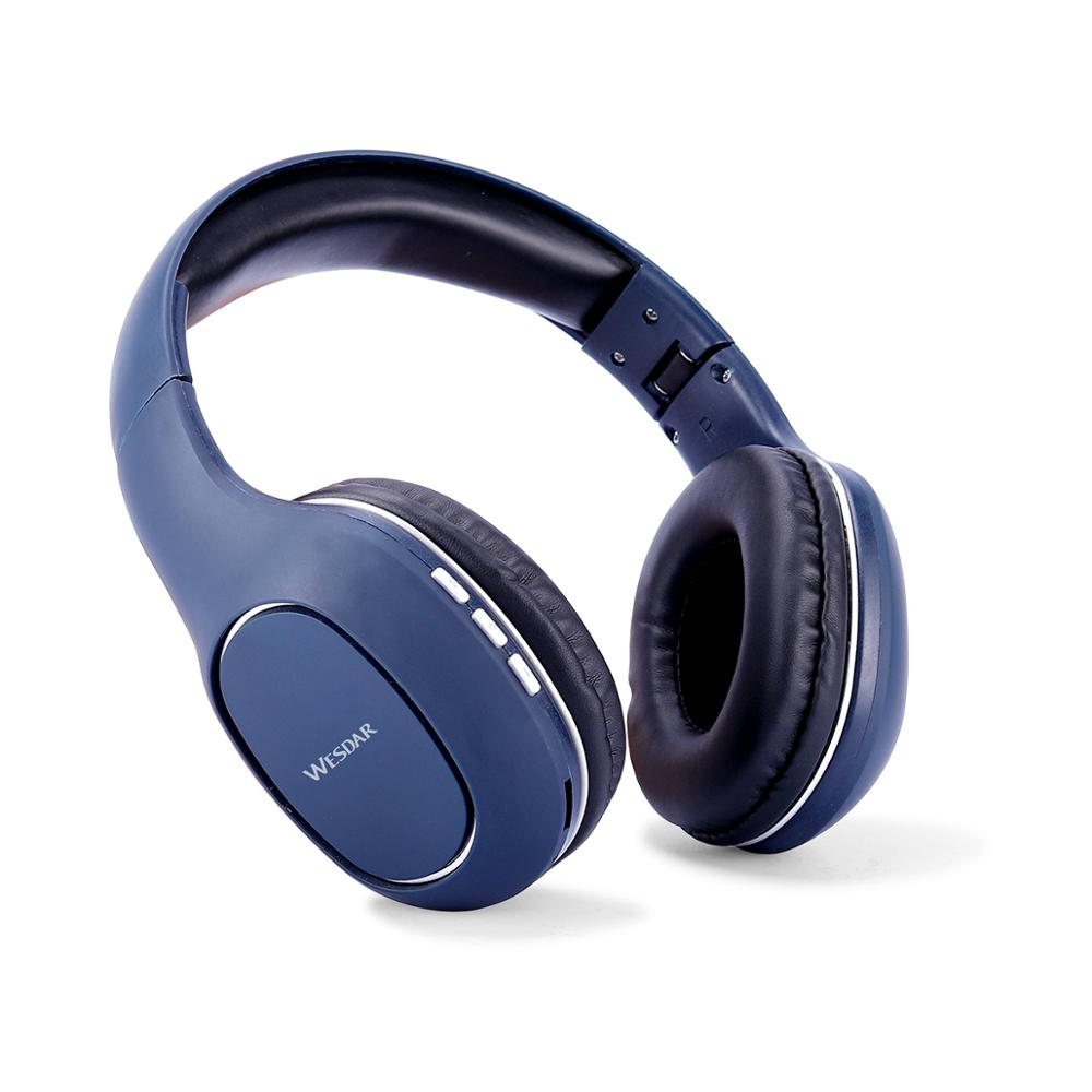 Wesdar New Portable Wireless Headphones Bluetooth Stereo Foldable Headset Audio Mp3 Adjustable Earphones With Mic For Music Bluetooth Earphones Headphones Aliexpress