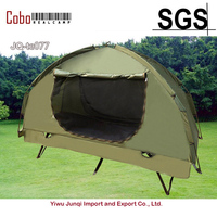 Outdoor 1 Person Single Off ground Folding Bed Cot Tent Waterproof Canopy Sunshade Camping Hiking