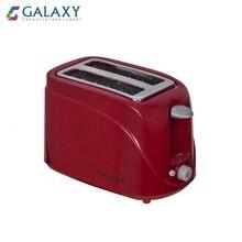Tostadora GALAXY GL2902 automática tostadora eléctrica para pan mini hogar para el desayuno máquina de pan herramienta de cocina