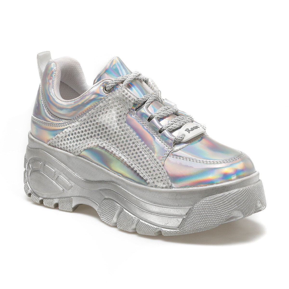 FLO 20S-499 Silver Women 'S Sneaker Shoes BUTIGO