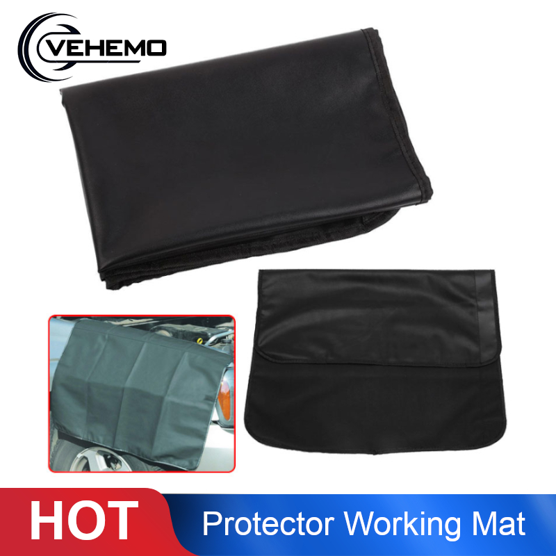 Vehemo Waterproof 82*60cm Magnetic Fender Cover Shield Car Truck SUV Mechanic Paint Protector Working Mat