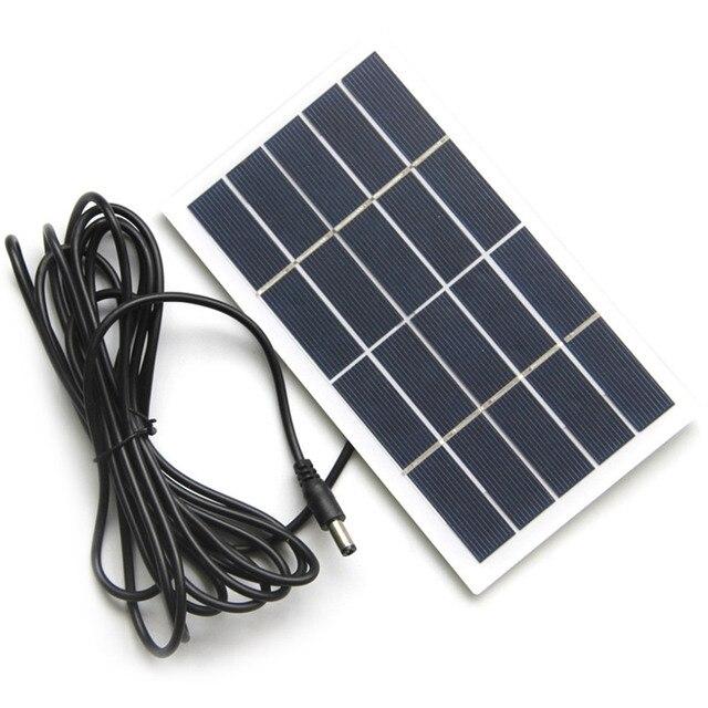 Solar Panel Battery 2V 5V 6V 12V Mini Solar System DIY For Battery Cell Phone