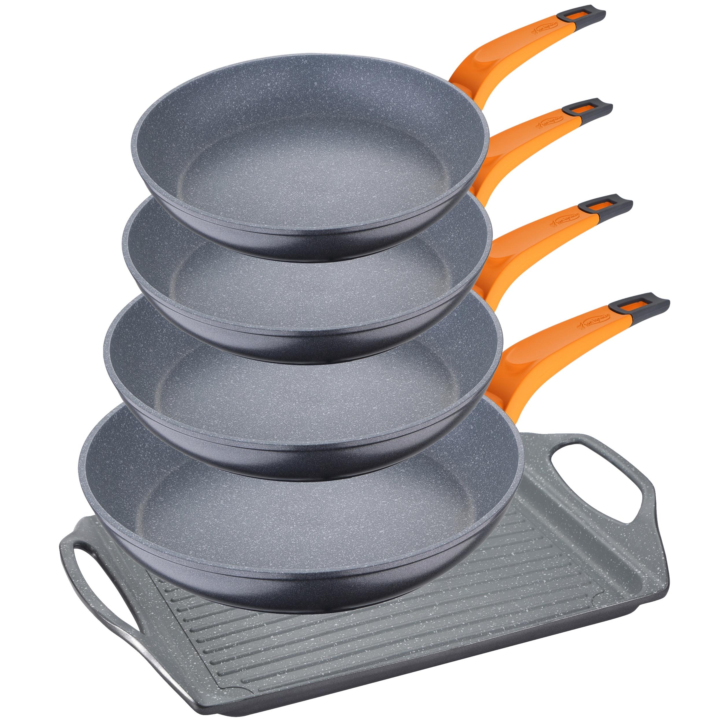 Juego De Sauce Pans In Aluminum To Choose SAN Ignacio Collection Lava