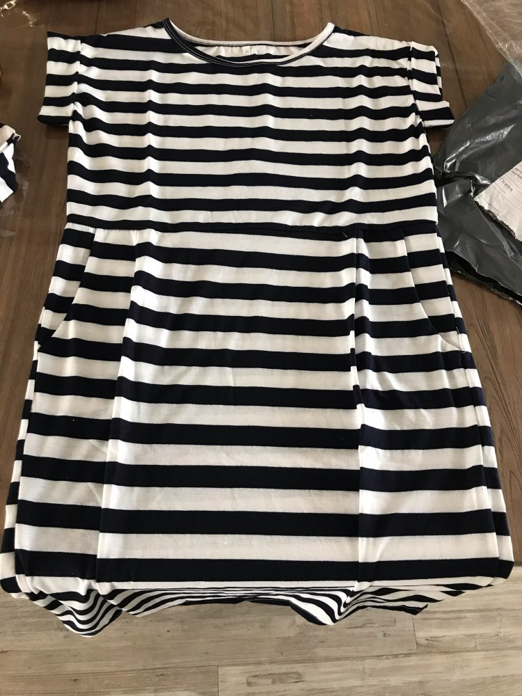 Solid O-neck Short Sleeves Lacing Dresses Women Casual Pockets Simple Dress Summer Ladies Fashion Breathable Dress Vestidos New reviews №1 145084