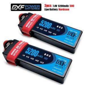 Image 3 - DXF batterie Lipo 2S, 7.4V 8400mAh 7000mAh 6500mAh, 50C 100C 60C 120C 240C, pour voiture et camion Rc Revo Slash