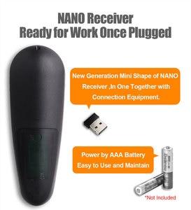Image 4 - Universale G30 2.4G del Giroscopio Wireless Air Mouse 33 Tasti di Apprendimento IR Intelligente di Voce di Controllo Remoto per Android TV Box TV vs G10 G20