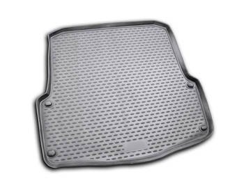 Trunk car mat for Skoda Octavia Scout II 2007~2014 wagon car interior protection floor from dirt guard car styling image