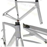 프로 sa-gan 자전거 frameset 탄소 도로 프레임 자전거 경주 700c t1000 대형 bb68 새로운 스레드