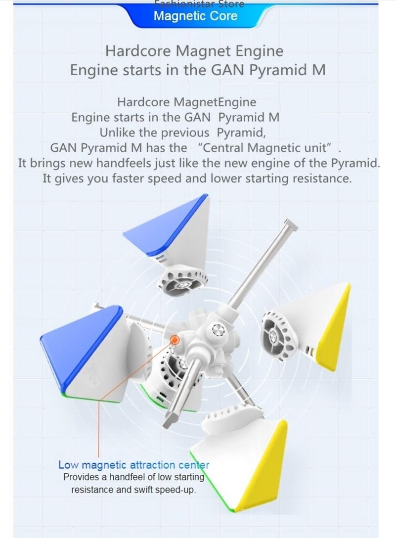 Cubos de gan 3x3x3 cubo mágico gan