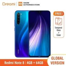 Глобальная версия Xiaomi Redmi Note 8 64GB ROM 4GB RAM (последнее поступление!), note8 64gb Мобильный смартфон, телефон, Смартфоны