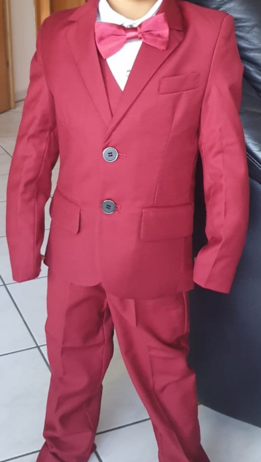 Trajes garcon formal escola