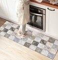 Else серый белый мраморный дизайн 3d принт Нескользящая микрофибра кухонный счетчик современный декоративный моющийся коврик