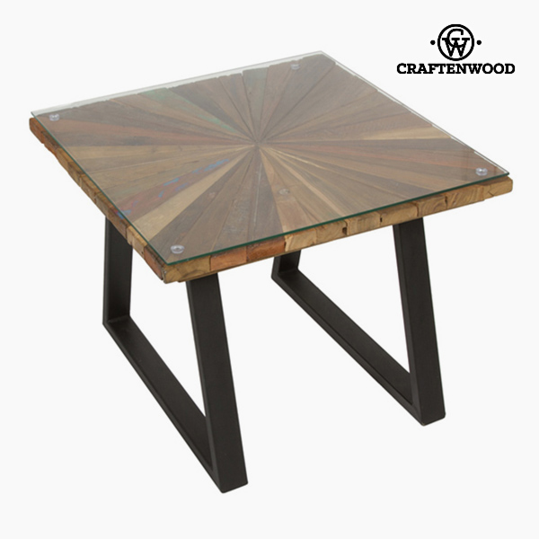 Centre Table Squared Wood - Autumn Collection By Craftenwood