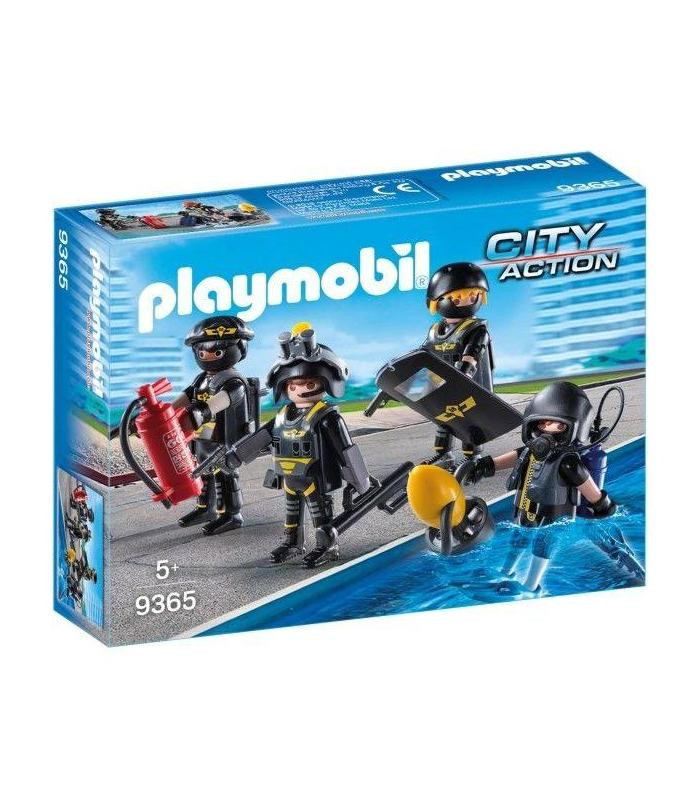 Playmobil 9365 Special Forces Team Toy Store Articles Created Handbook