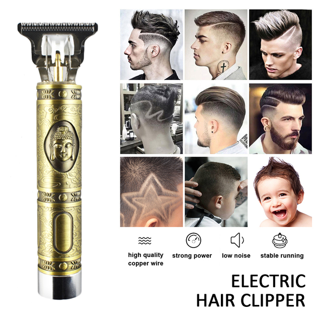 T-Outliner Hair Trimmer Body Face Clipper Hair Clippers Men Cordless Beard Razor Trimmers Barber Electric Haircut Cutter 1
