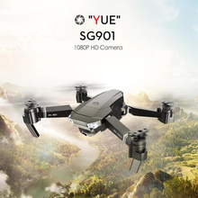 SG901 1080P HD Dual Camera RC Drone WIFI FPV Foldable Optical Flow Positioning Quadcopter Auto Return Aircraft With Battery USB