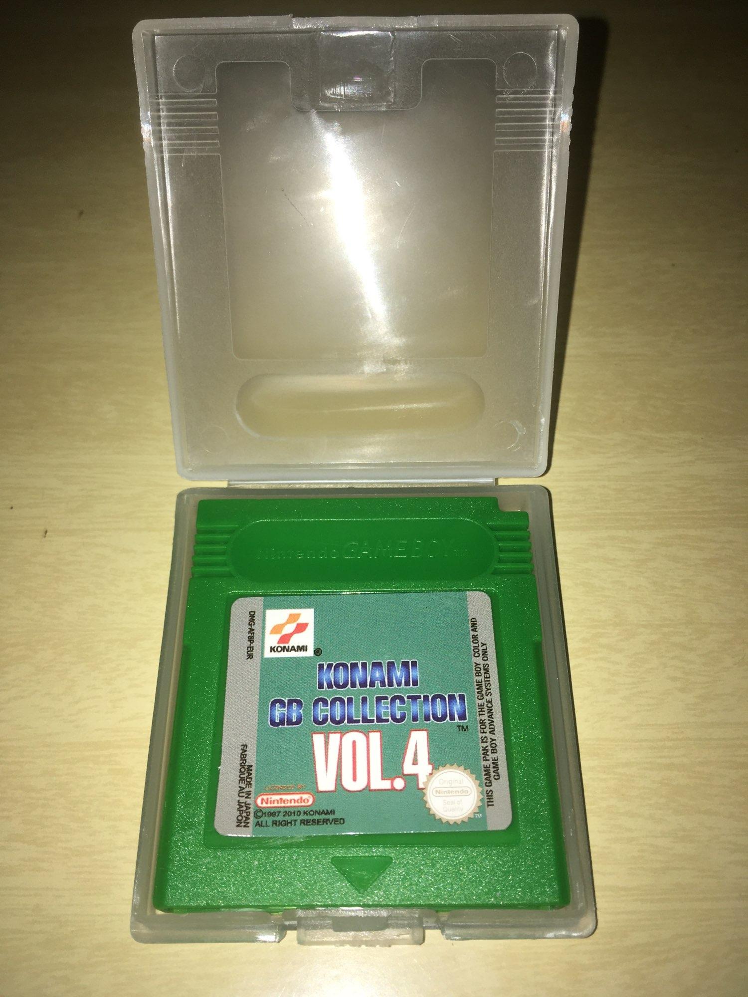 For Nintendo GBC Video Game Cartridge Console Card Konami GB Collection Vol.4 English Language Version photo review