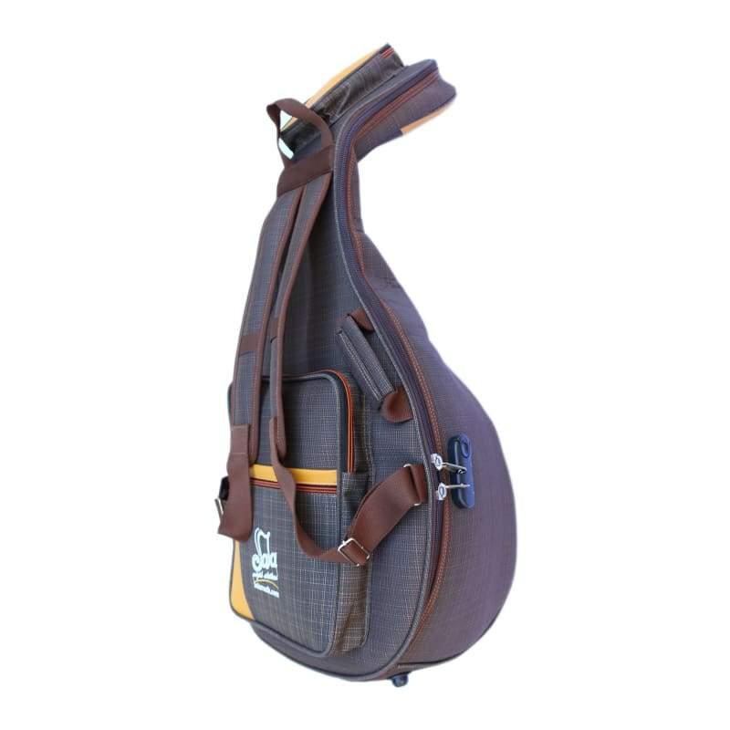 Caja de Seguridad acolchada impermeable Oud cuerda instrumento Gig Bag-303