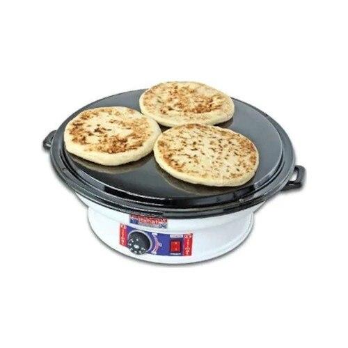 Yörükoğlu Electric Katmer Plate Pastry Sheet Bread Sheet Katmer Pan + Thermostat Special | Turkish Pancake | Hair Pastry | Burri