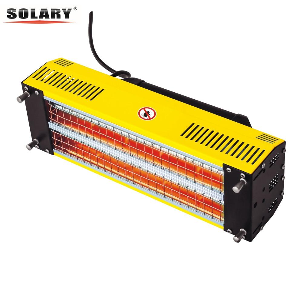 Infrared Dryer Baking Infrared Paint Curing Lamp 110V /220V Short Wave Infrared Heater Car Bodywork Repair Paint Lamp Dryer