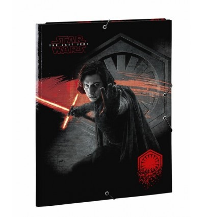 WALLET FOLIO 3 LAPELS STAR WARS VIII