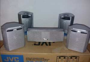 JVC SP-XE11 4+1 SATELLITE SPEAKER SET - INCREDIBLE QUALITY AND PRICE