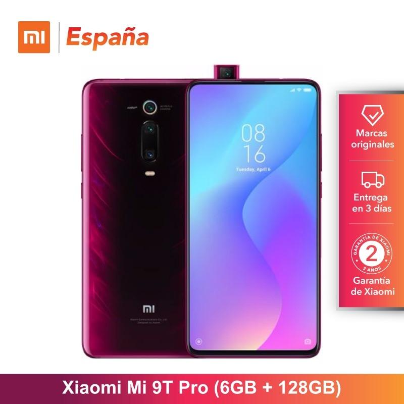 [Global Version for Spain] Xiaomi Mi 9T Pro (Memoria interna de 128GB, RAM de 6GB, Triple cámara trasera de 48 MP) Movil