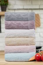 Premium 6 Pcs Towel Set Hand Towels And KitchenTowels 100 Cotton Turkish Quality Luxury Super Soft and Highly Absorbent Towels cheap Meslina TR(Origin)