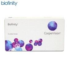 Контактные линзы Biofinity(6 шт) R: 8.6
