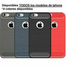 Stand fall gebürstet carbon IPhone 5 5S 6 6S 6Plus 7 7 Plus 8 8 PLUS X XS XR XS MAX 11 11 Pro Max Silikon gel TPU FREIES VERSCHIFFEN SPANIEN
