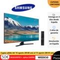 TV SAMSUNG TU850, 65 , 55 and 50 , Smart TV original, free from Spain, square, Crystal UHD 163cm 65 4K Smart TV 2020
