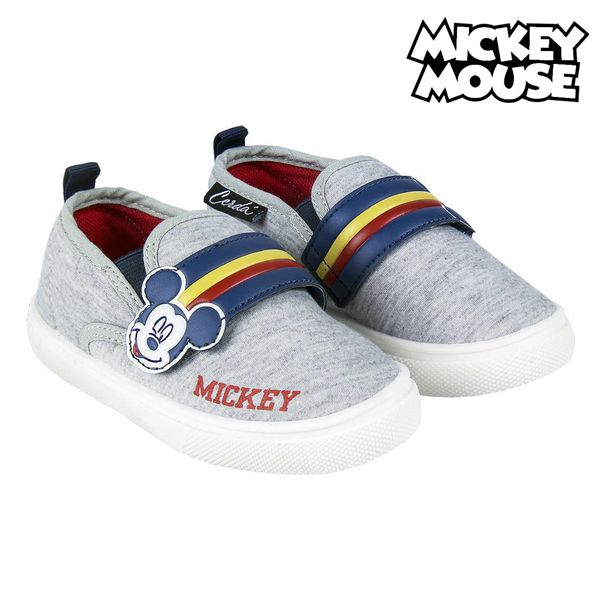 Children's Casual Trainers Mickey Mouse Grey