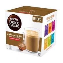 Кофе в капсулах nescaffee dolcee Gusto 97934 Caffee Au Lait(16 uds) без кофеина