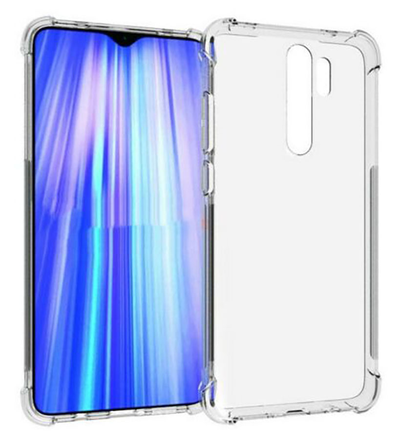 Stand Case For XIAOMI Note Redmi 8 PRO Antishock Clear Gel Anti-Shock