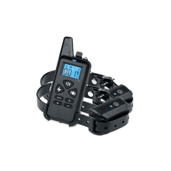DTC-101 Dog Training Collars with Beep/Vibrate/Electric Shock For 2 Dogs 100g2280
