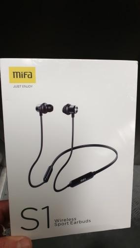 Mifa S1 Wireless Sports Bluetooth Earphone IPX5 Waterproof Wireless Headset for phones-in Bluetooth Earphones & Headphones from Consumer Electronics on AliExpress