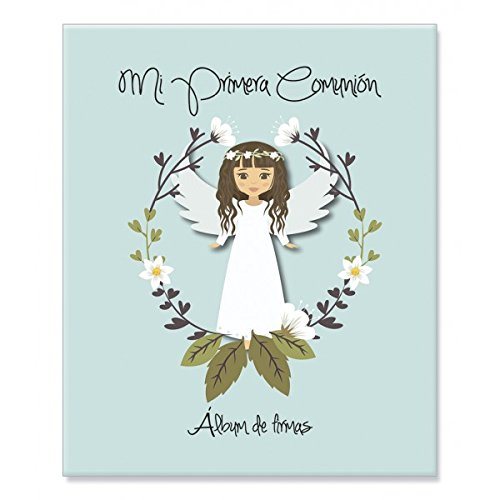 Album Signature And Pictures 1ª Communion GIRL-Details And Gifts For Weddings, Christening Suits, Communions, Birthday And Holiday.