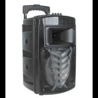 """Sistema de colunas falante OM & S MR-213A 8 """"incluindo um fone de ouvido bluetooth e um USB flash drive combo speaker amplificador de som"""