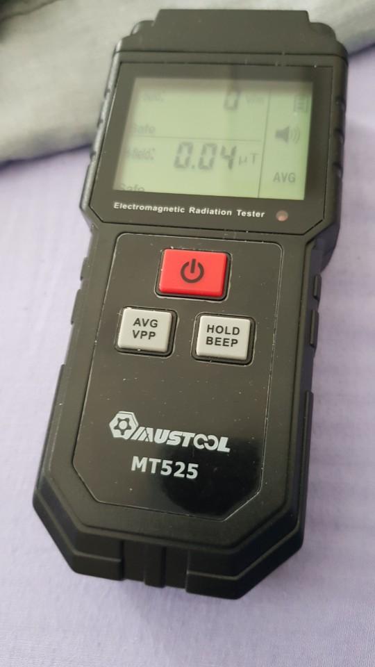 -- Testador Radiação Mustool