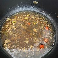豆腐茄子肉末豆芽煲的做法图解3