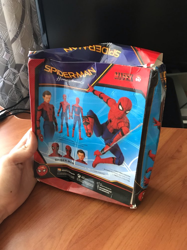 Figuras de ação Maf047 Regresso Spiderman