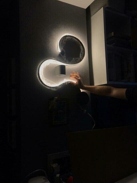 -- Lâmpadas Parede Moderna