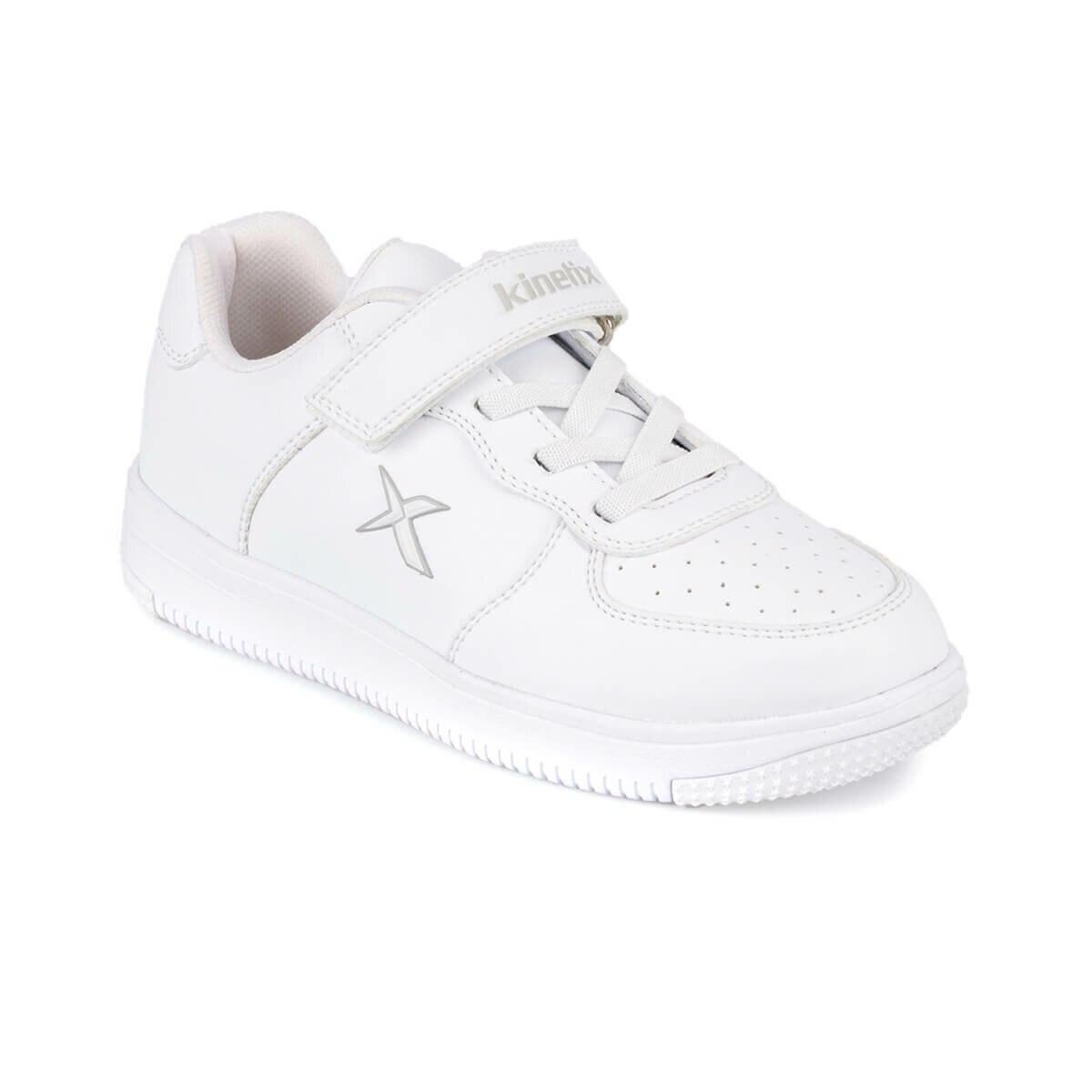 FLO KALEN 9PR White Male Child Sneaker Shoes KINETIX