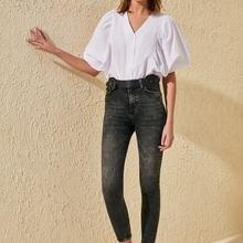 Trendyol-Flushing High Waist Skinny Jeans TWOSS20JE0213