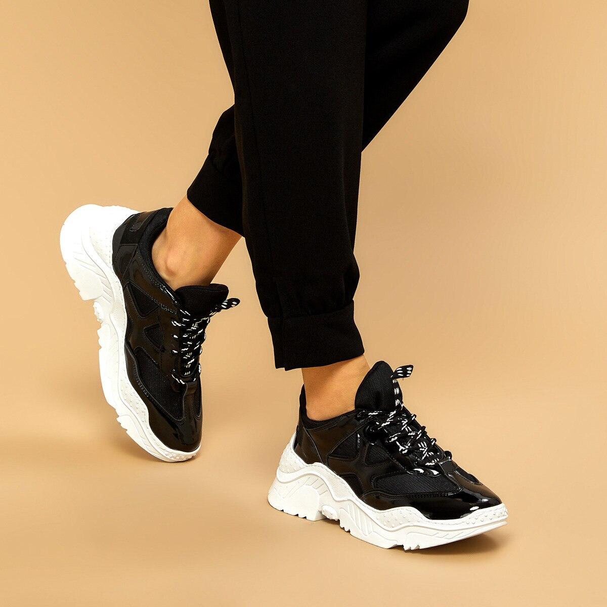 FLO 19K-951 Black Women Sneaker BUTIGO
