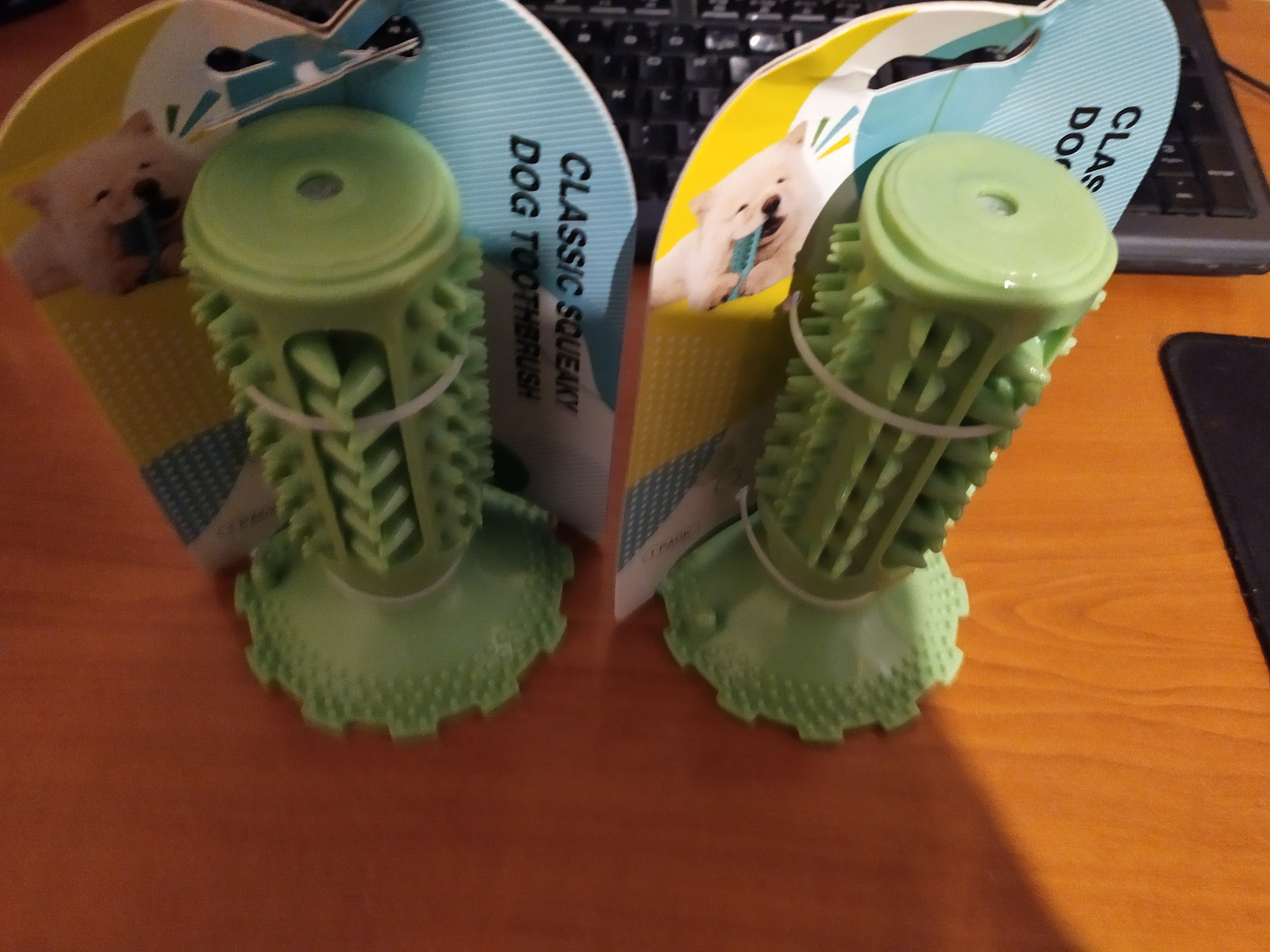 Puppy Toothbrush Chew Toy photo review