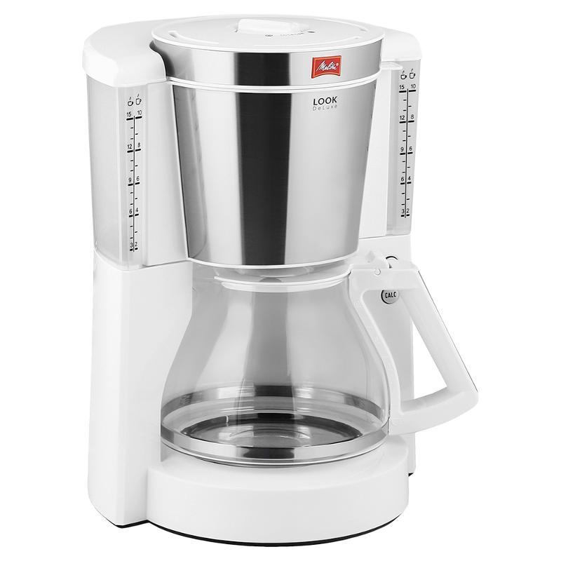 цены на Drip coffee maker Melitta Look IV DeLuxe, White в интернет-магазинах