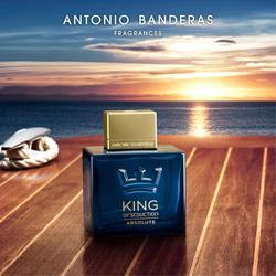 Perfume de Antonio Banderas rey de seducción absoluta perfume eau de toilette 100 ml